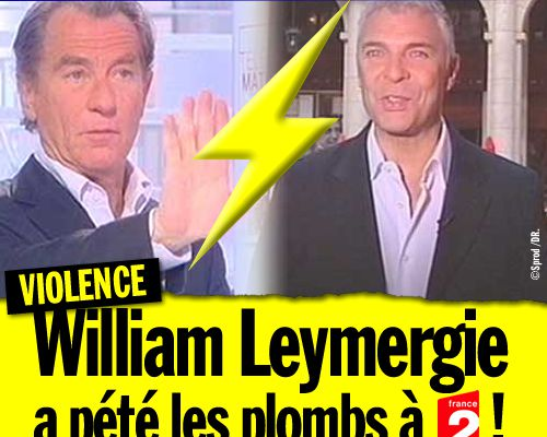 William Leymergie a pété les plombs à France 2 ! (Mis à jour)