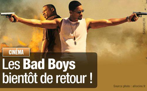 Les Bad Boys bientôt de retour !
