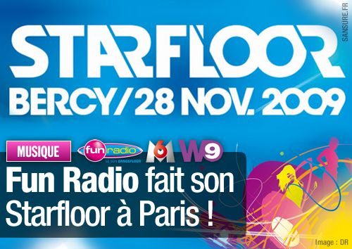 Fun Radio fait son Starfloor à Paris !