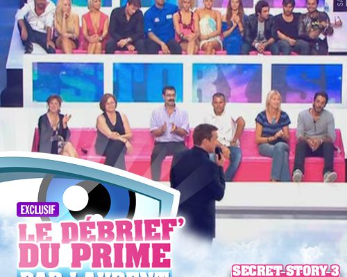 EXCLUSIF / Secret Story 3 : le débrief' du 1er prime par Laurent !
