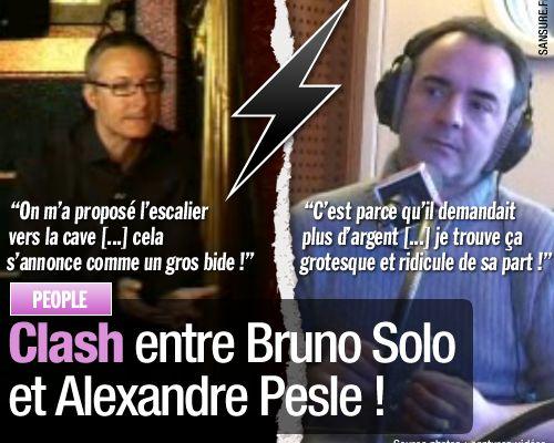 Clash entre Bruno Solo et Alexandre Pesle !