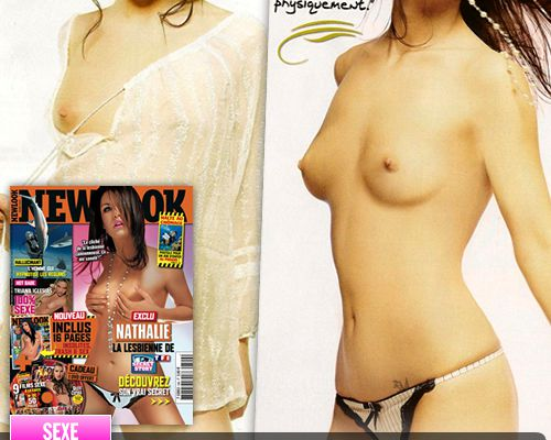 Nathalie de Secret Story pose topless pour Newlook !