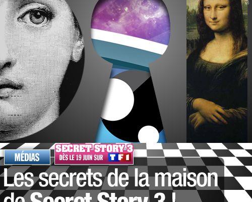 Les secrets de la maison de Secret Story 3 !