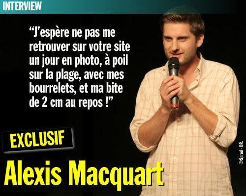EXCLU / Interview : Alexis Macquart