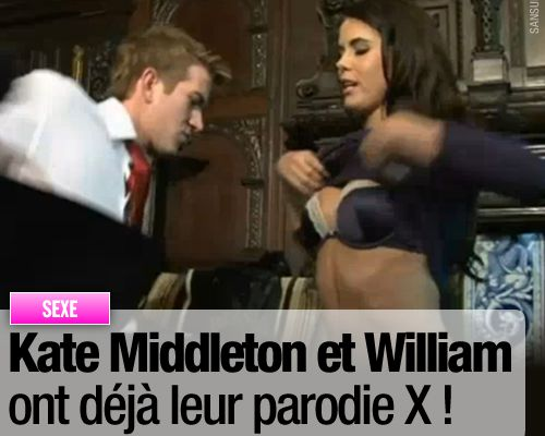 Kate Middleton et William ont déjà leur parodie X !
