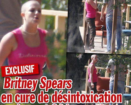 EXCLU : Britney Spears en cure de désintoxication seulement 24 heures !