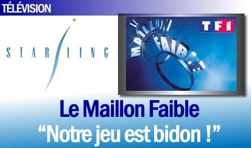 """EXCLU : Les coulisses du casting du Maillon Faible, """"Notre jeu est bidon !""""."""