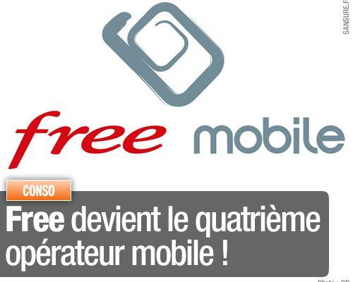 Free devient le quatrième opérateur mobile !