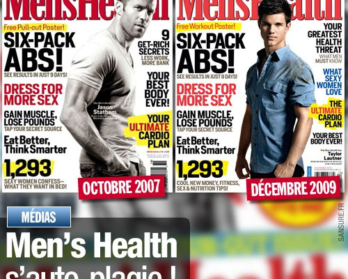 Men's Health s'auto-plagie !