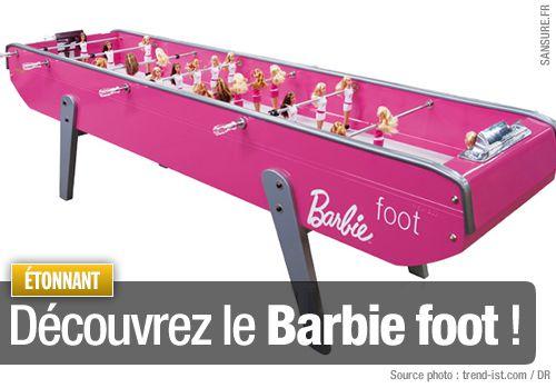 Découvrez le Barbie foot !