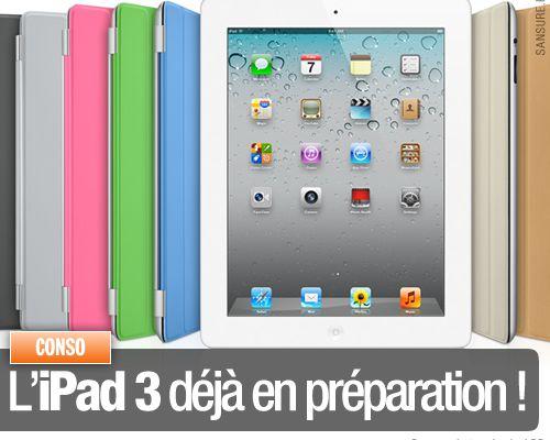 L'iPad 3 déjà en préparation !