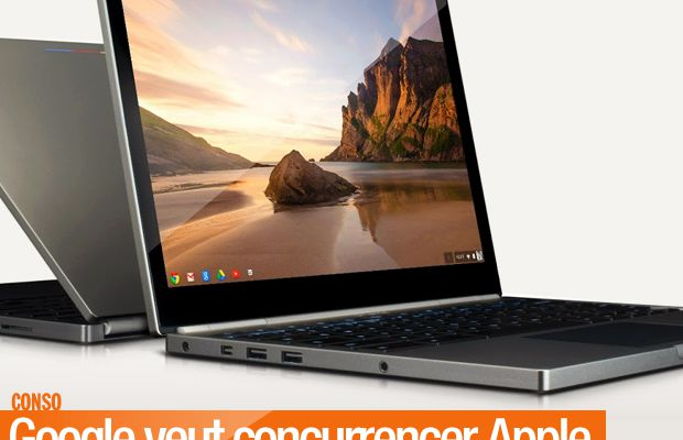 Google veut concurrencer Apple avec son Chromebook Pixel !