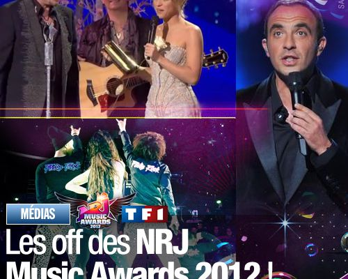 Les off des NRJ Music Awards 2012 !
