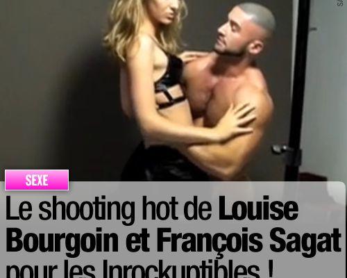 Le shooting hot de Louise Bourgoin et François Sagat pour les Inrockuptibles !