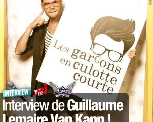 EXCLUSIF / Interview de Guillaume Lemaire Van Kann !