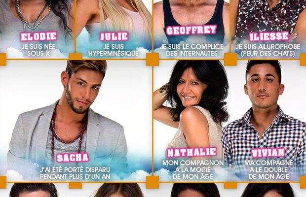 Les 15 candidats de Secret Story 8 et tous leurs secrets ! #SS8