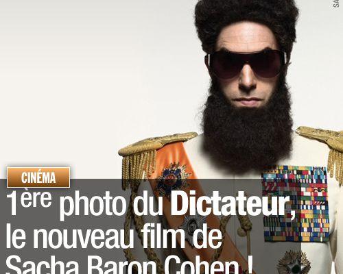 1ère photo du Dictateur, le nouveau film de Sacha Baron Cohen !