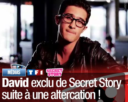 David exclu de Secret Story suite à une altercation !