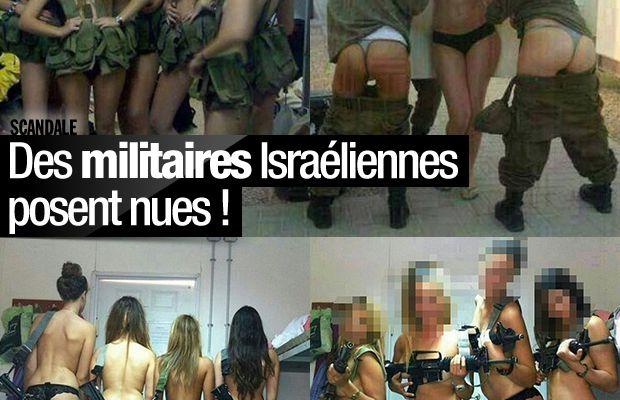 Des militaires Israéliennes posent nues ! #scandale