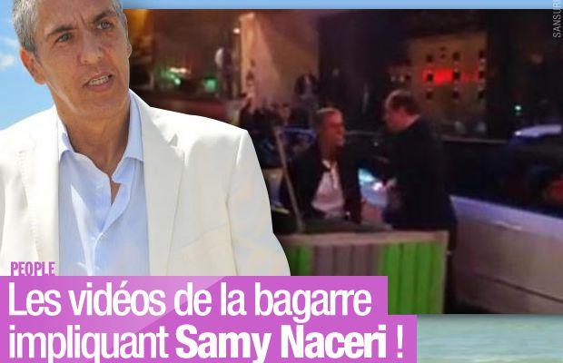 Les vidéos de la bagarre impliquant Samy Naceri ! #people