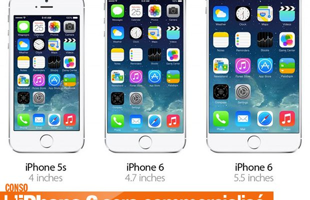 L'iPhone 6 sera commercialisé le 19 septembre ! #iPhone6