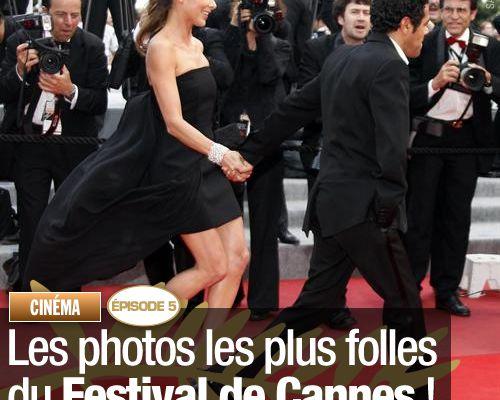 Les photos les plus folles du Festival de Cannes ! (Épisode 5)