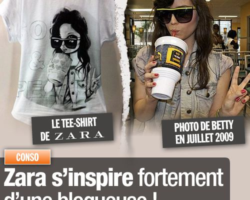 Zara s'inspire fortement d'une blogueuse !