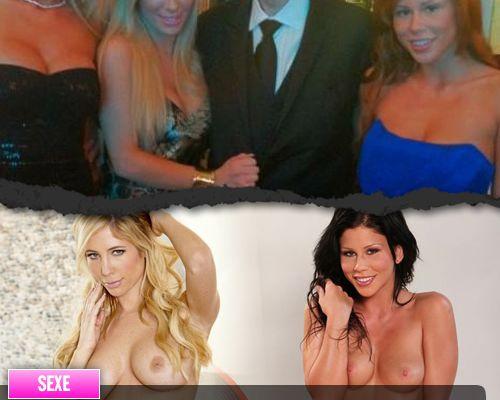 Bill Clinton pose avec des actrices porno sans le savoir !