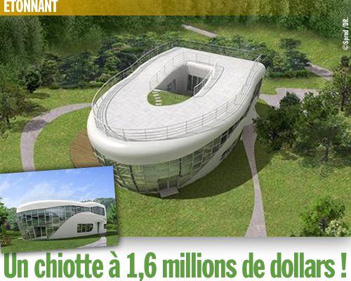 Un chiotte à 1,6 millions de dollars !