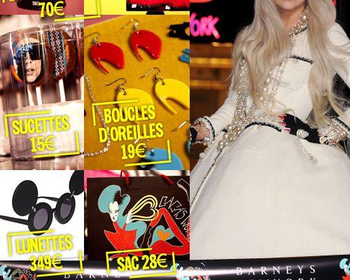 Une boutique éphémère dédiée à Lady Gaga !