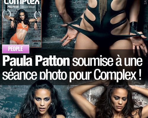 Paula Patton soumise à une séance photo pour Complex !