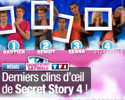 Derniers clins d'œil de Secret Story 4 !