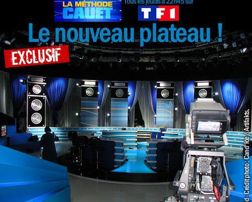 EXCLU : Le nouveau plateau de La méthode Cauet !