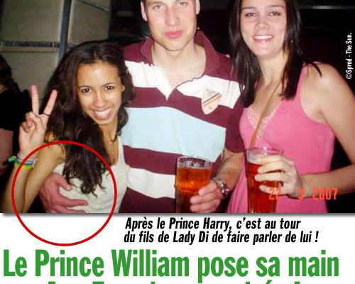 Le Prince William pose sa main sur Ana Ferreira en soirée !