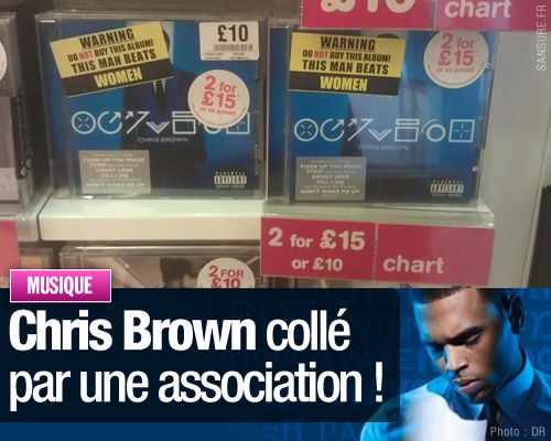 Chris Brown collé par une association !