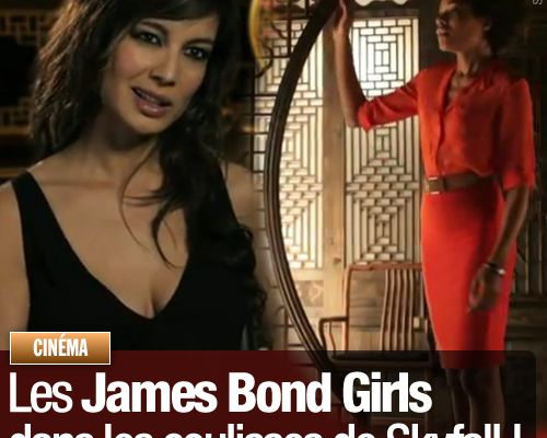 Les James Bond Girls dans les coulisses de Skyfall !