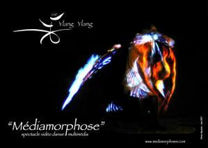 """Médiamorphose"" (cie Ylang Ylang): spectacle de vidéo-danse"
