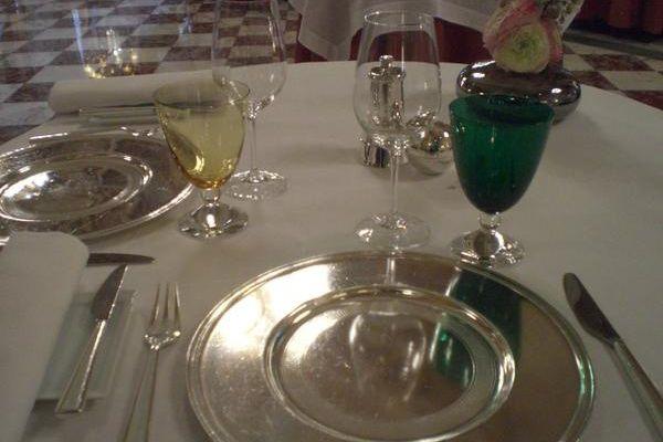 Déjeuner au restaurant gastronomique du Crillon, les Ambassadeurs