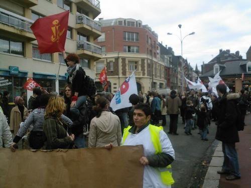 """Le 20 novembre, les stagiaires de """"Formation éducation"""" étaient en grève !"""