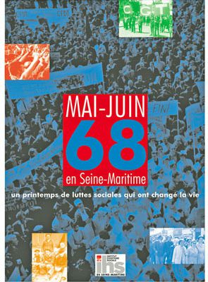 Mai-Juin 1968: interview sur France Bleue le 1er avril