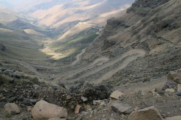 Le Drakensberg : étape montagneuse