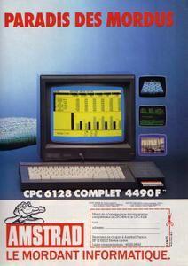 L' amstrad CPC 6128 par Nico :)
