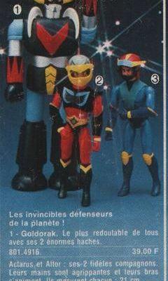 Les jouets Goldo par Nico :)
