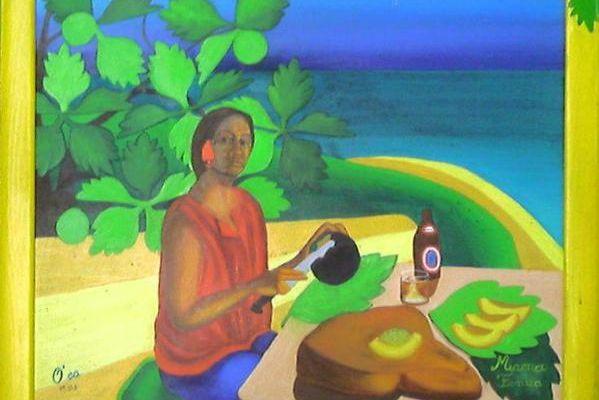 MAMA E TE URU - Huile - Matari'i - Article sur le URU