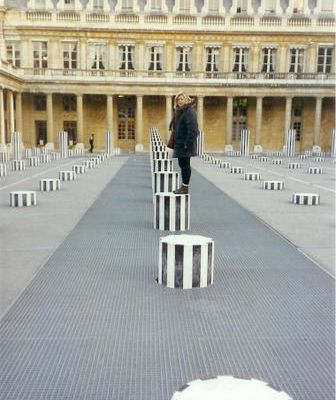 Colonnes de Buren, Palais Royal, Paris, France