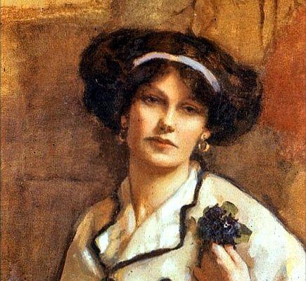 Autoportrait de femme peintre : Norah Neilson Gray, 1918