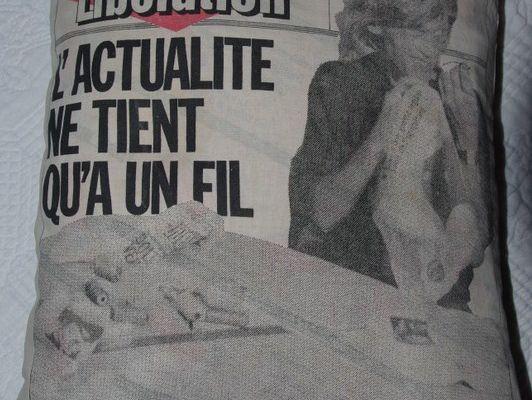 Libération, édition du 8 octobre 1986 : le métier à tisser l'information