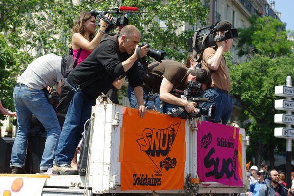 Manif du 10 juin 2008 à Paris