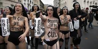 TUNISIE : LES FEMEN CONDAMNEES A 4 MOIS DE PRISON FERME : qu'elles aillent se faire voir ailleurs !!!