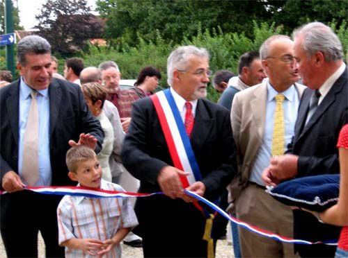 inauguration du centre bourg
